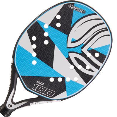 Pala Tenis Playa Artengo BTR 100 Adulto Blanco/Azul/Negro