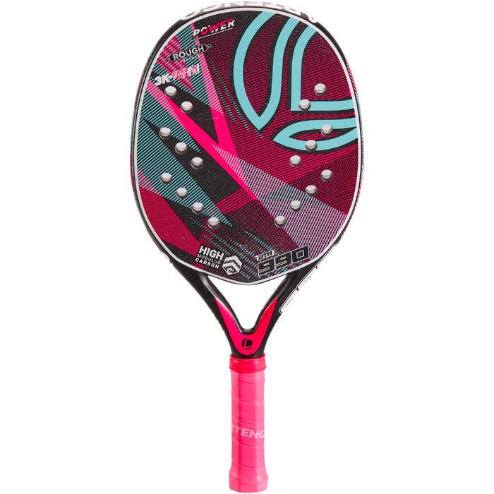 Raquette de Beach Tennis BTR 990 jaune - 1317226