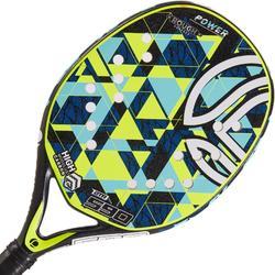 Raqueta de tenis playa BTR 590 amarillo
