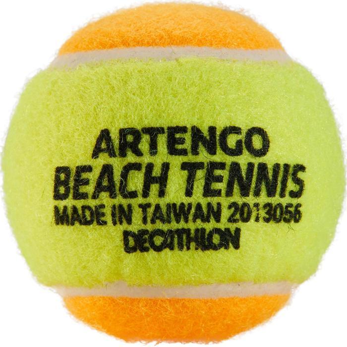 Pelota Tenis Playa Artengo BTB 900 Amarillo Naranja