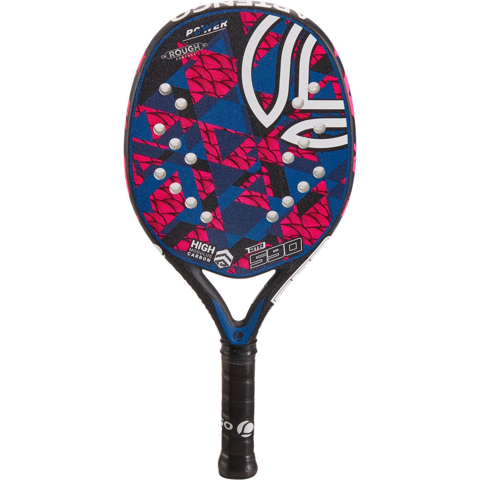 cd07da8f5f42e5 Artengo Beachtennis racket BTR 590 roze blauw
