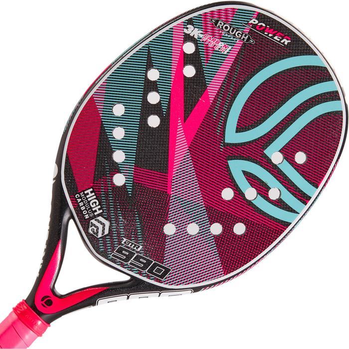 Raquette de Beach Tennis BTR 990 jaune - 1317251