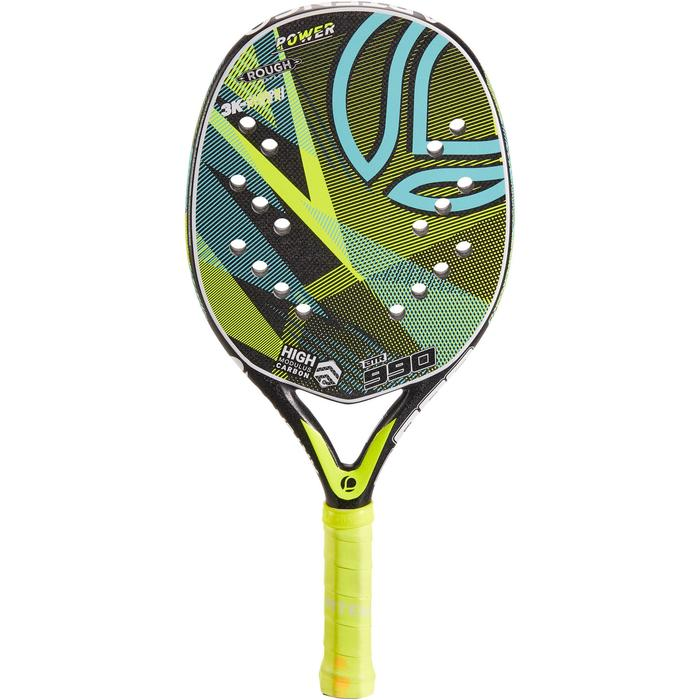 Beachtennis racket BTR 990 geel - 1317257