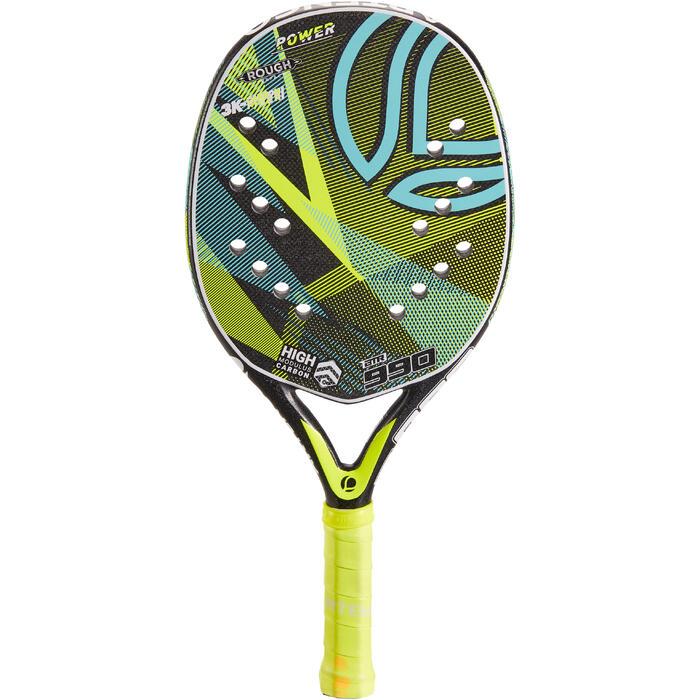 Raquette de Beach Tennis BTR 990 jaune - 1317257