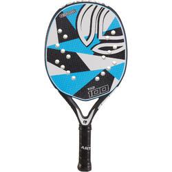 Pala Tenis Playa Artengo BTR 100 Adulto Azul Blanco Negro