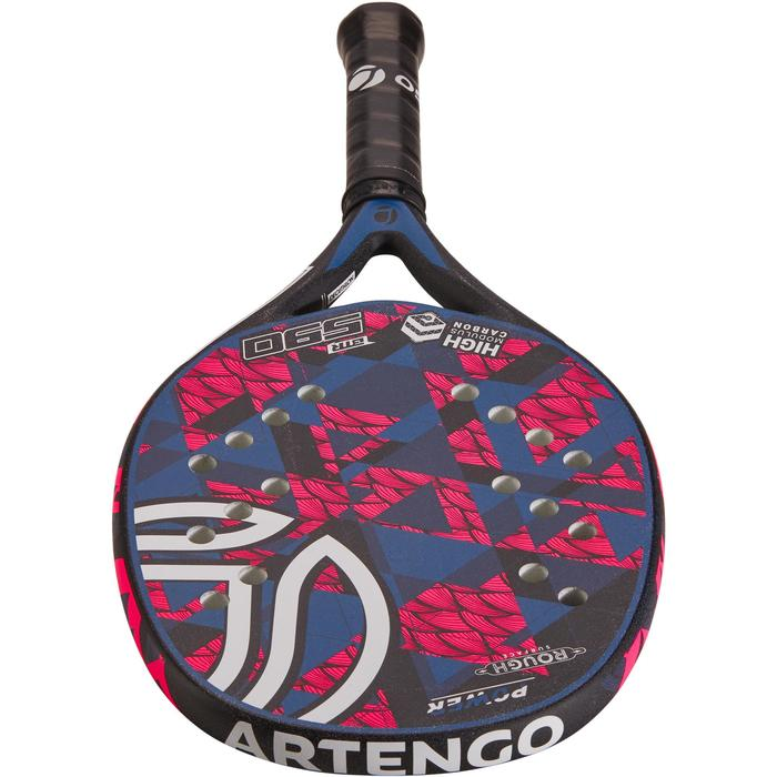 Beachtennis racket BTR 590 roze/blauw