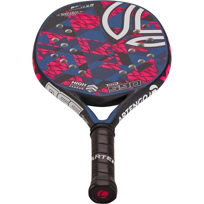 Pala Tenis Playa Artengo BTR 590 Adulto Rosa Azul