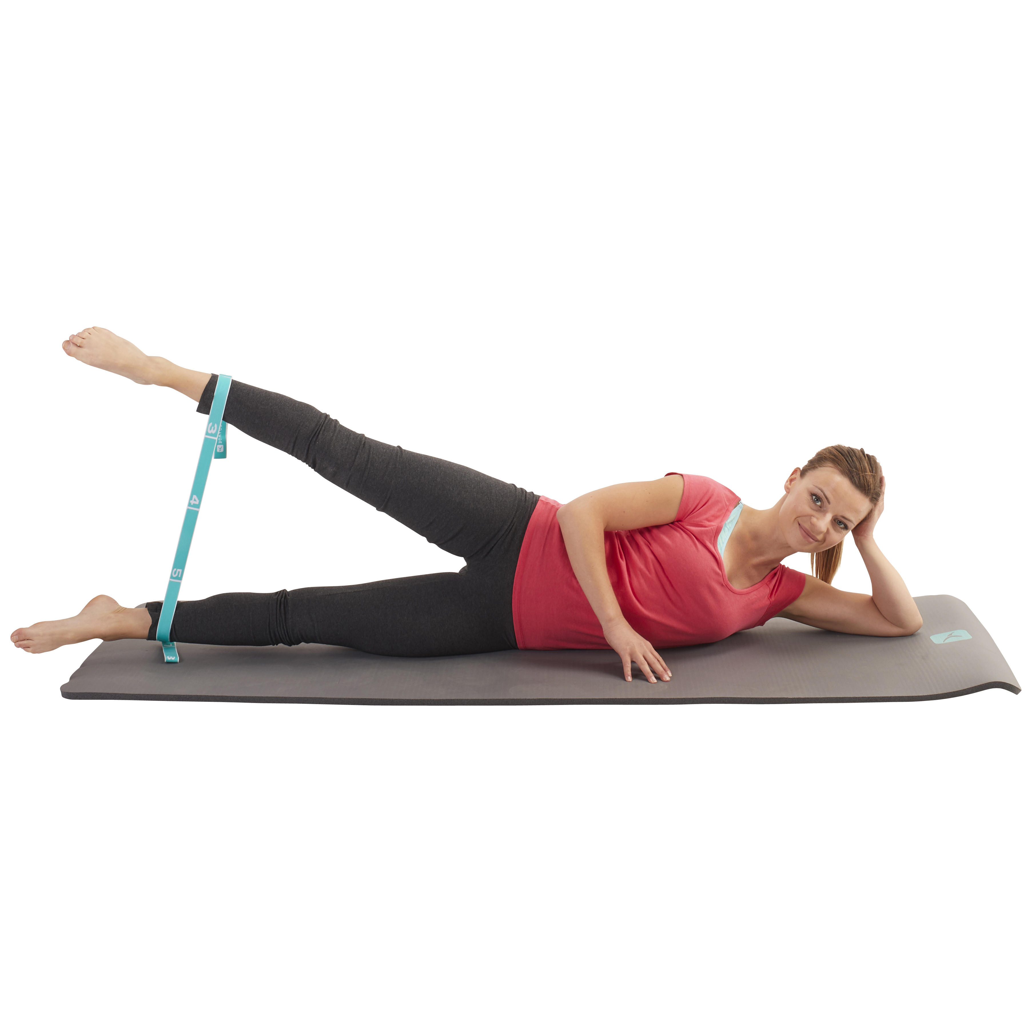 Pilates Toning Elastic Strap Level Easy