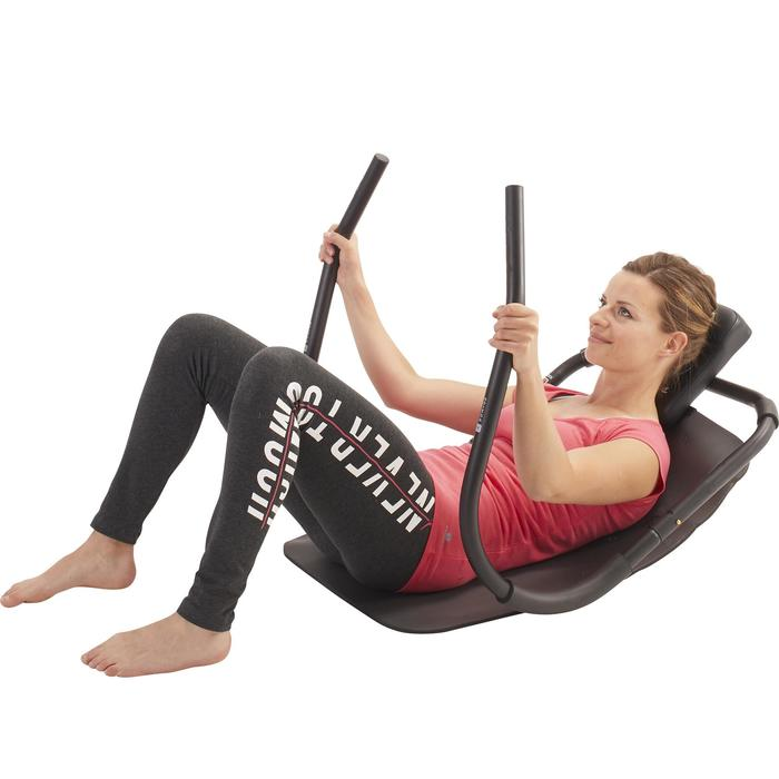 Ergonomische comfortabele buikspiertrainer voor pilates/figuurtraining Abdo 500