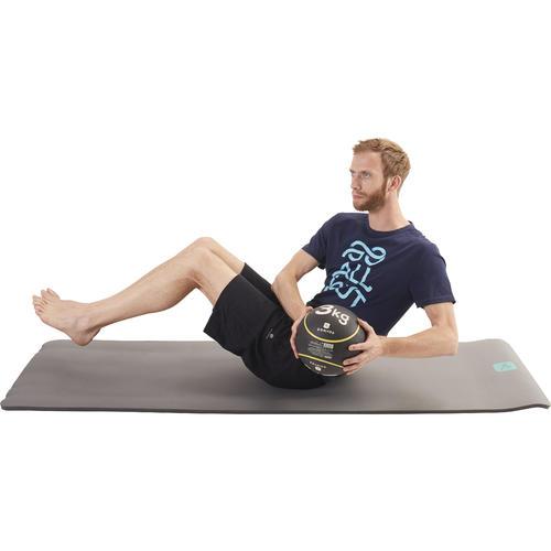 Medecine Ball 3kg Lestee Pilates Toning Pour Les Clubs Et Collectivites Decathlon Pro