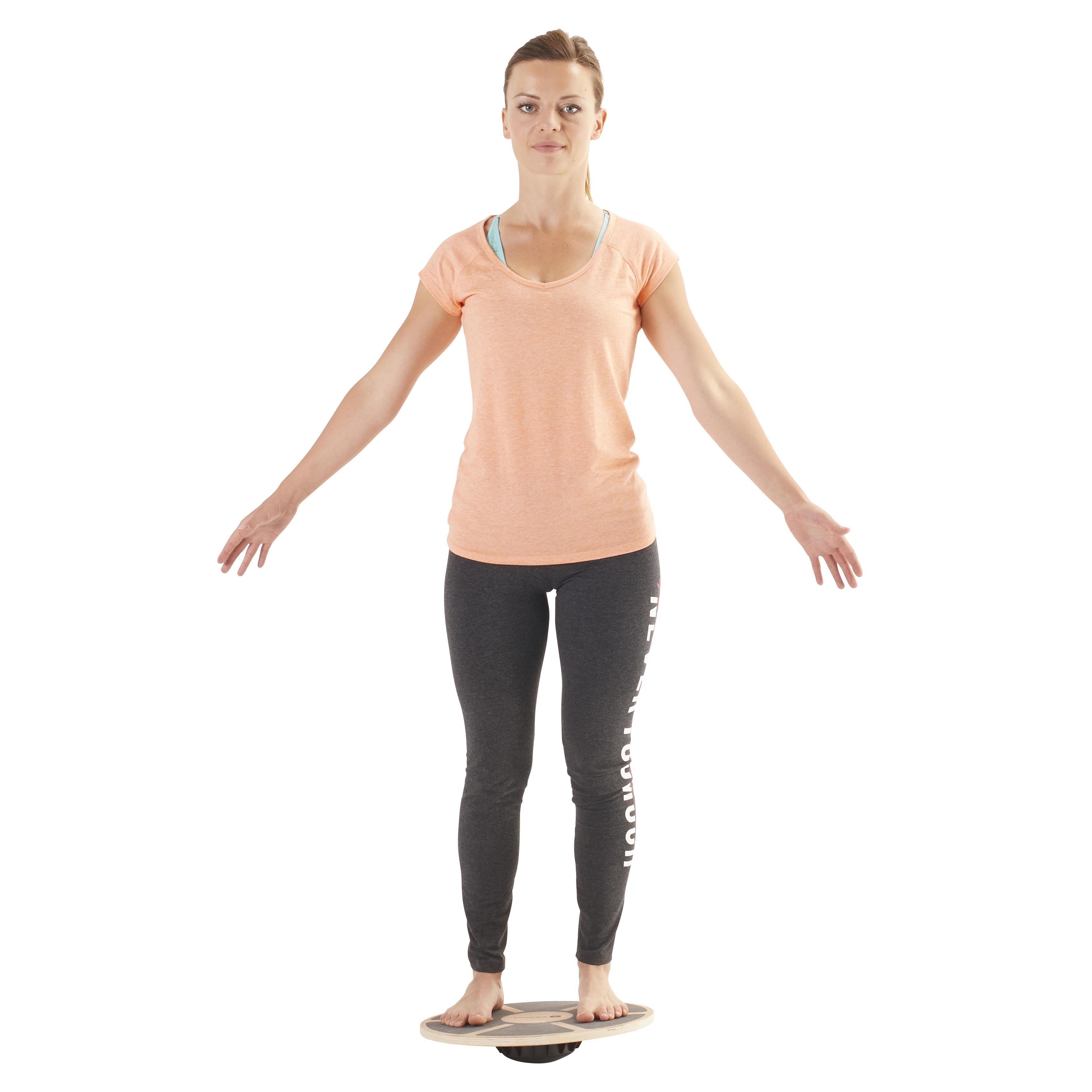 500 Pilates Stretching Balance Board