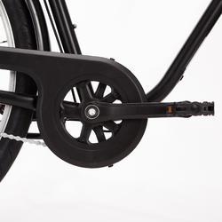 """City Bike 28"""" Elops 100 HF Herren schwarz"""