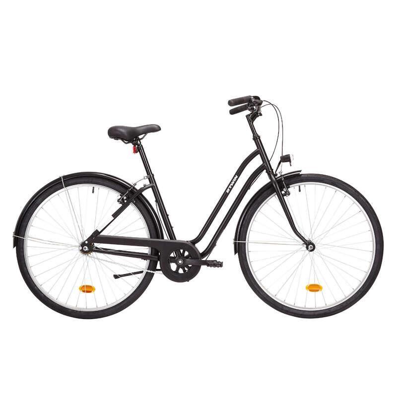 KLASİK ŞEHİR BİSİKLETİ Bisiklet - ELOPS 100 ALÇAK KADRO ELOPS - Bisikletler