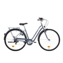 "City Bike 28"" Elops 120 LF Damen graublau"