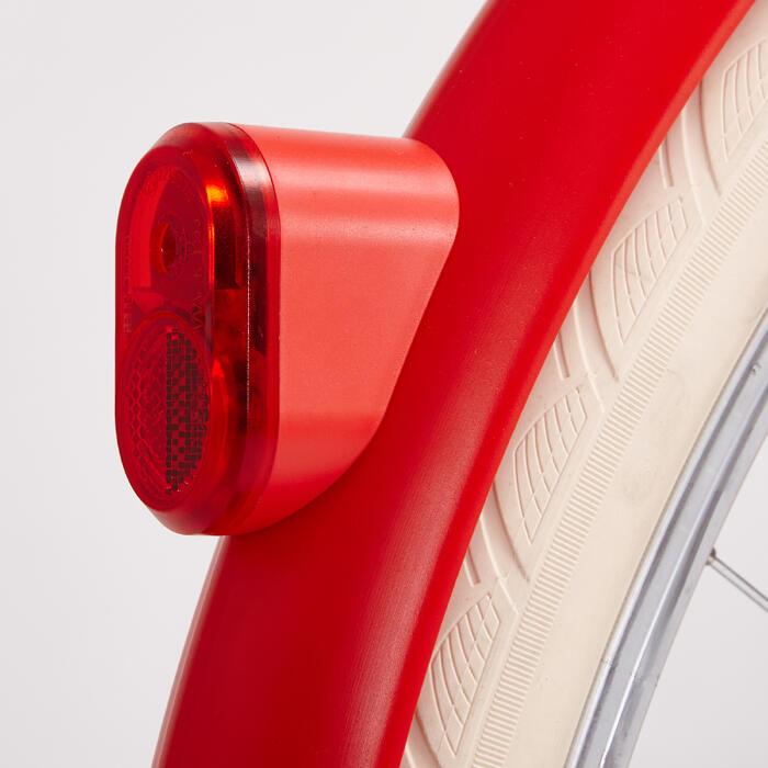 Achterlicht led dynamo Elops 520 rood