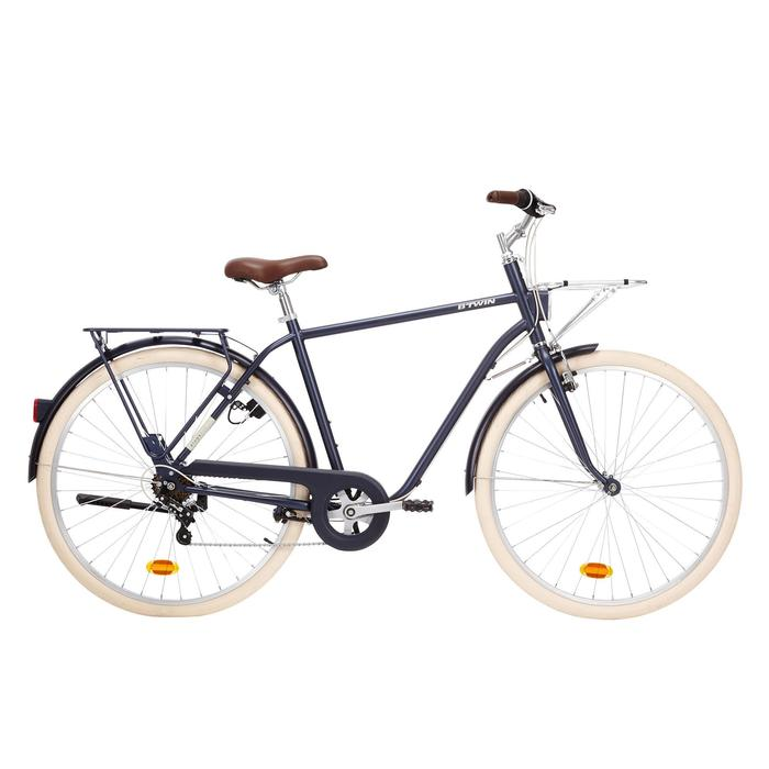 "City Bike 28"" Elops 520 HF Herren blau"