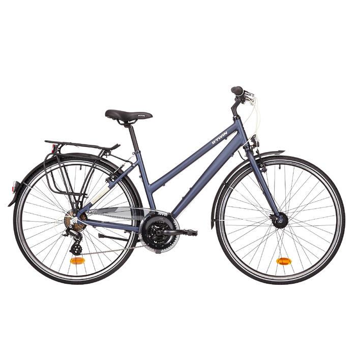 "Trekkingrad 28"" Hoprider 100 LF Damen blau"