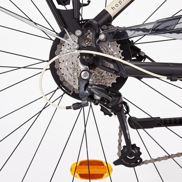 Stadsfiets voor lange afstanden Hoprider 900 hoog frame - 1317656