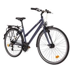 Trekkingrad 28 Zoll Hoprider 100 LF Damen blau