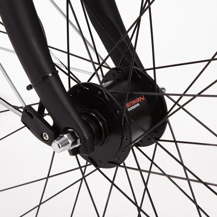 Stadsfiets Hoprider 500 voor grote afstanden, laag frame