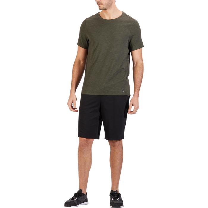 T-Shirt 520 regular col rond Gym & Pilates AOP homme - 1317707