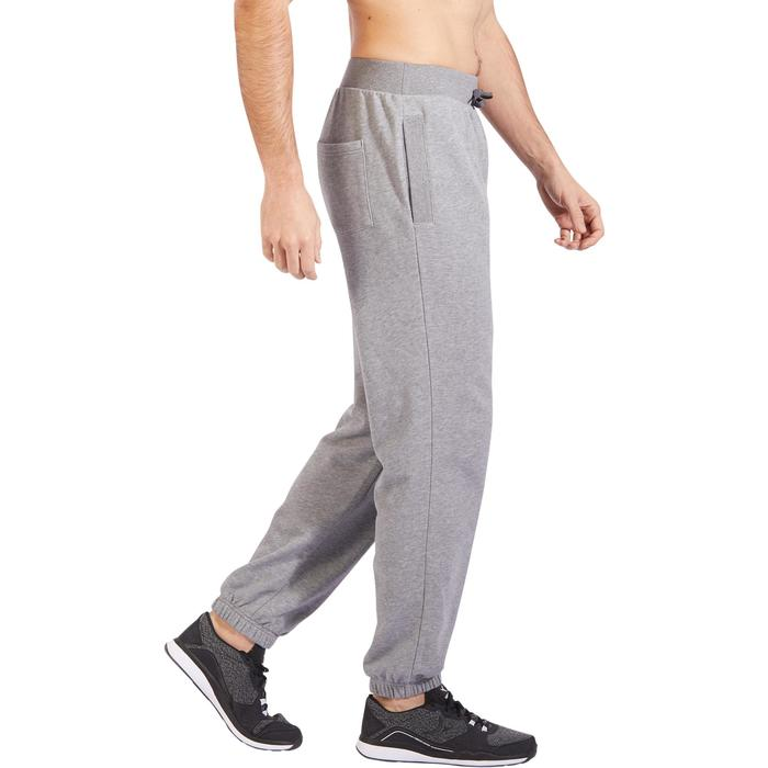 Pantalon 520 regular Gym Stretching homme gris