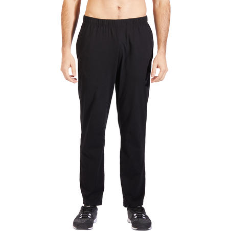 Pants 100 Regular gimnasia y pilates hombre negro