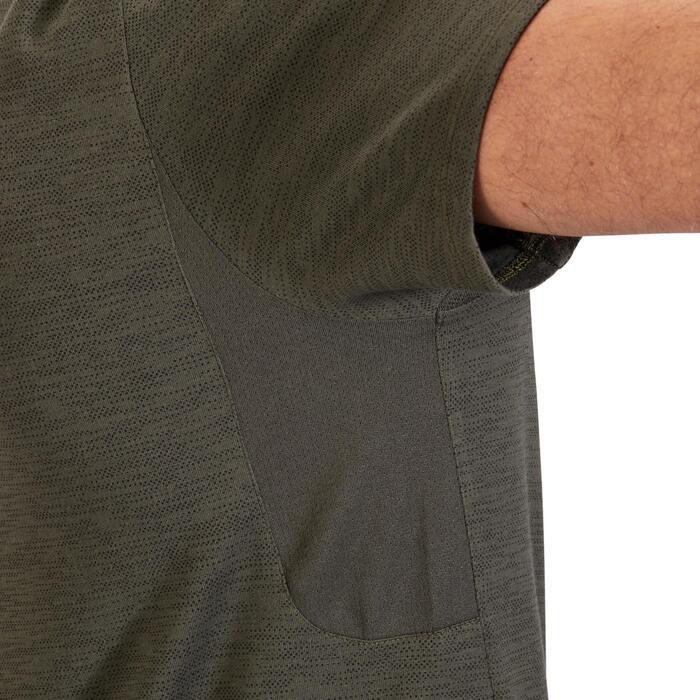 T-Shirt 520 regular col rond Gym & Pilates AOP homme - 1317772