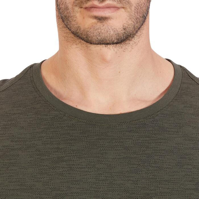 T-Shirt 520 regular col rond Gym & Pilates AOP homme - 1317780