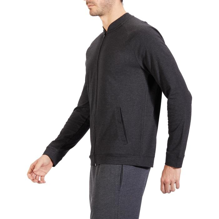 Veste 100 Gym Stretching homme - 1317795