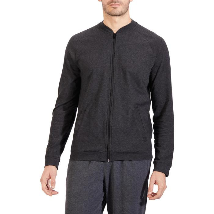 Veste 100 Gym Stretching homme - 1317811