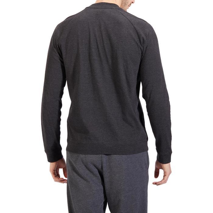 Trainingsjacke 100 Reißverschluss Herren grau