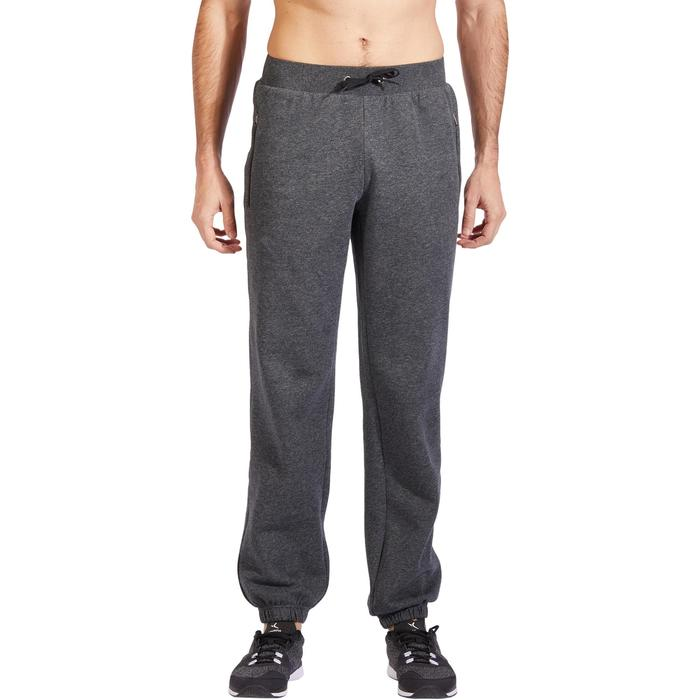 500 Regular-Fit Gentle Gym & Pilates Bottoms - Grey