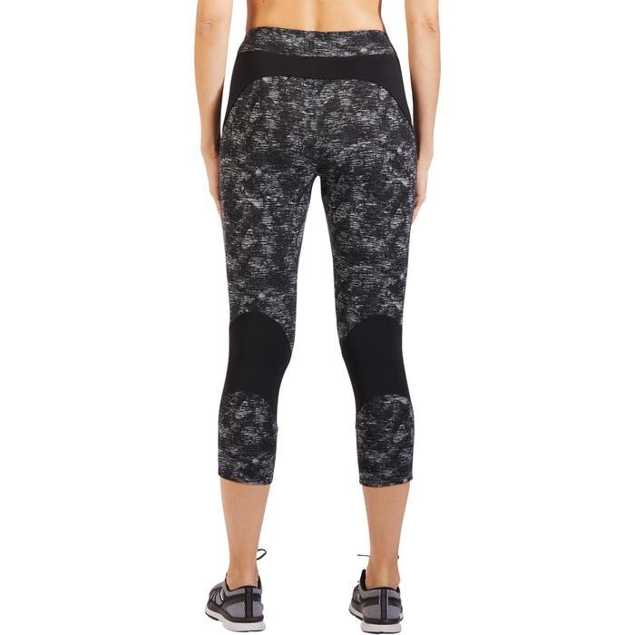 Legging 7/8 520 Gym & Pilates femme gris chiné - 1317915