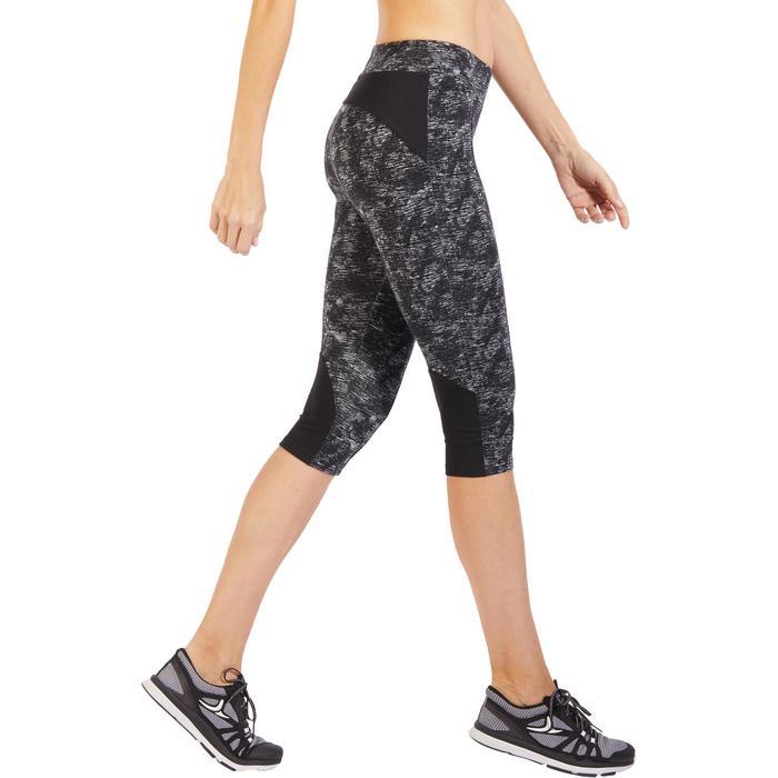Corsaire 520 Gym & Pilates femme noir imprimé - 1317933