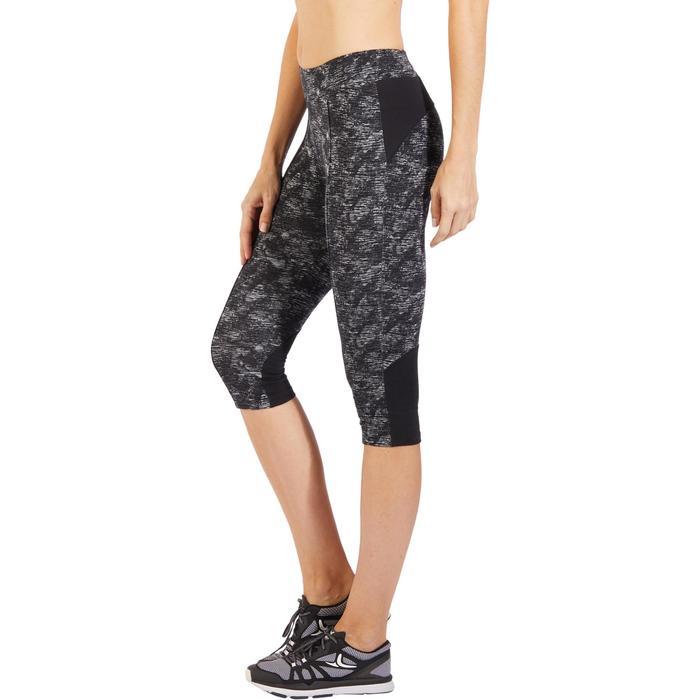 Corsaire 520 Gym & Pilates femme noir imprimé - 1317989