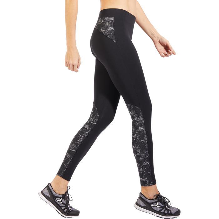 Legging 520 Pilates Gym douce femme noir print