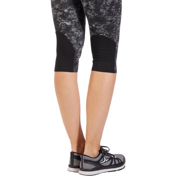 Corsaire 520 Gym & Pilates femme noir imprimé - 1318071