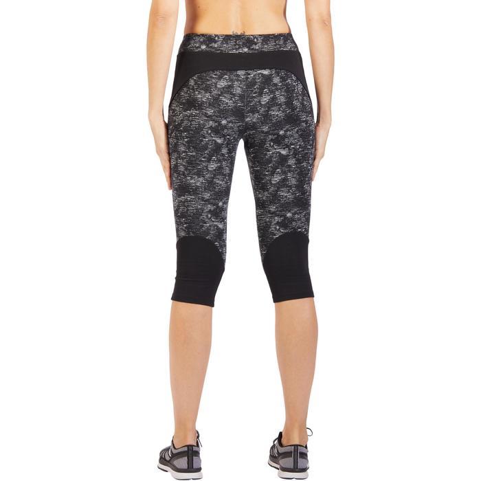 Corsaire 520 Gym & Pilates femme noir imprimé - 1318114