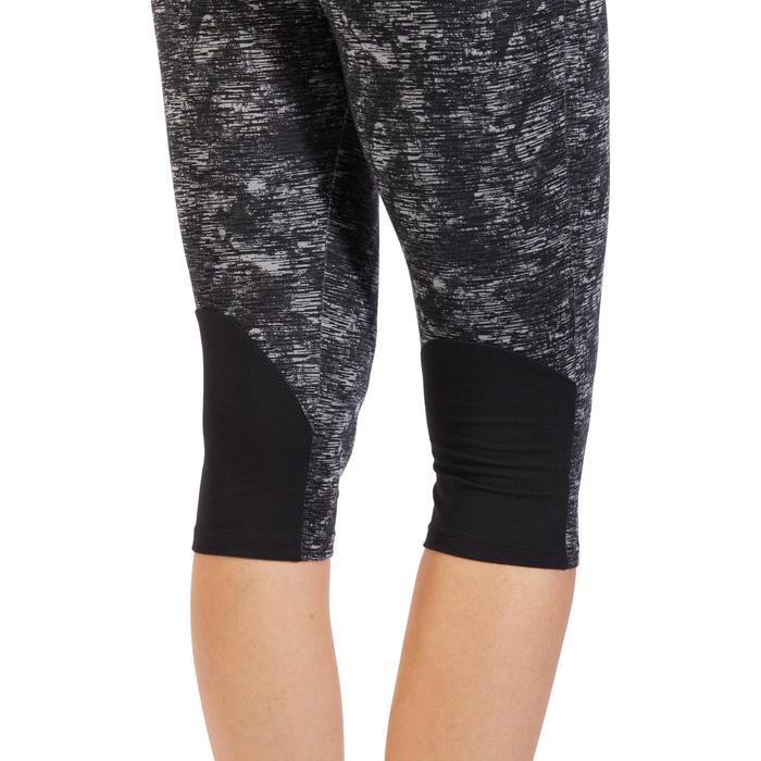 Corsaire 520 Gym & Pilates femme noir imprimé - 1318133