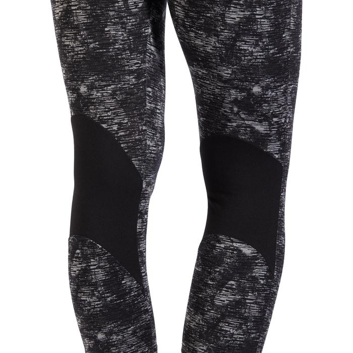Legging 7/8 520 Gym & Pilates femme gris chiné - 1318149