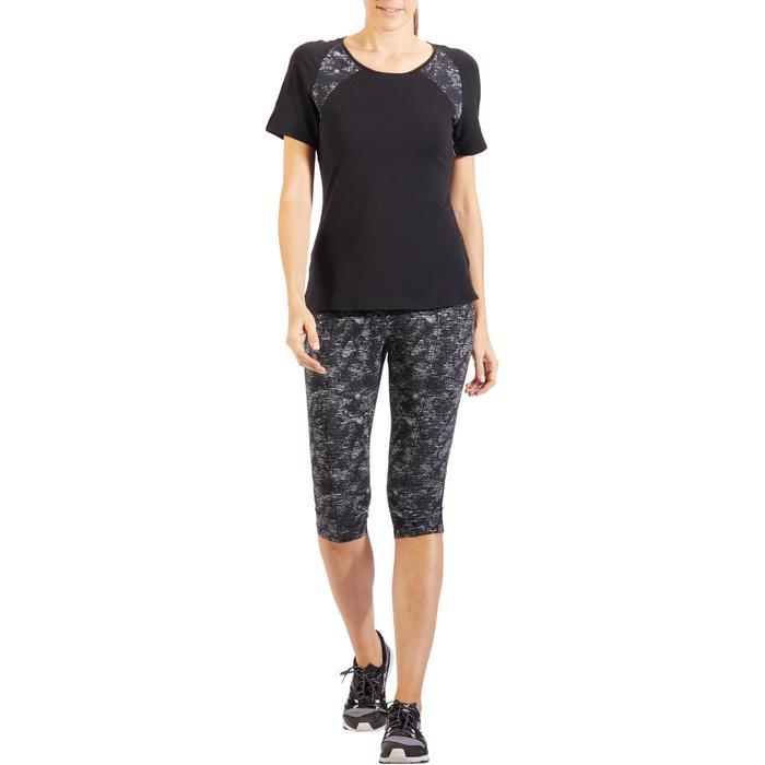 Corsaire 520 Gym & Pilates femme noir imprimé - 1318175