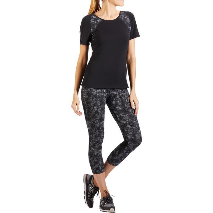 Legging 7/8 520 Gym & Pilates femme gris chiné - 1318180