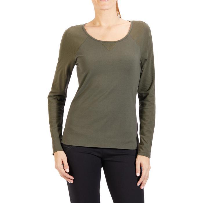 T-Shirt 900 manches longues Gym & Pilates Femme - 1318211