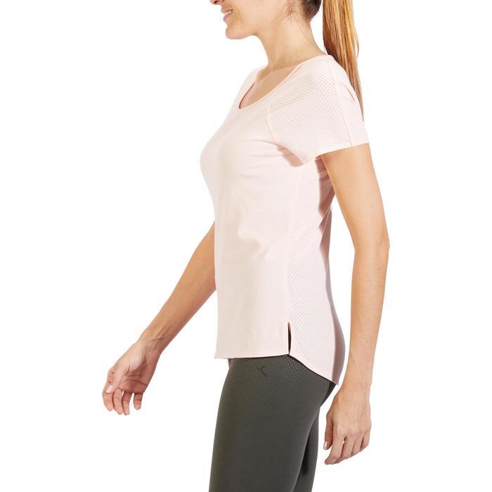 T-Shirt 900 manches courtes Gym & Pilates femme - 1318236