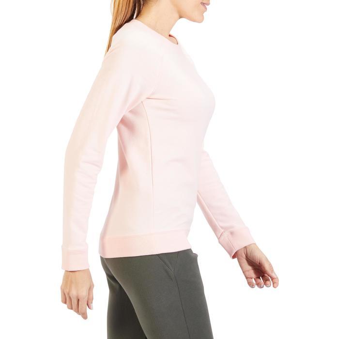 Sweat Training Femme 100 Rose Pâle