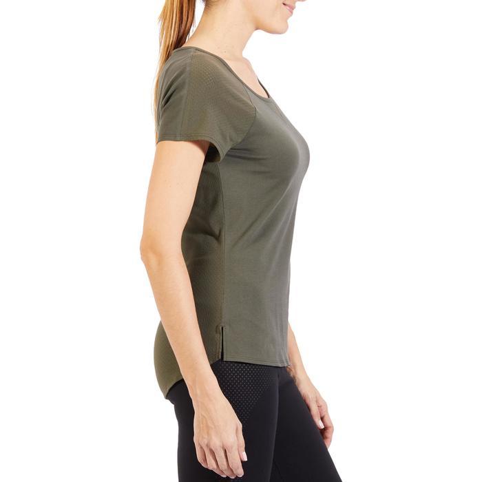 T-Shirt 900 manches courtes Gym & Pilates femme - 1318274