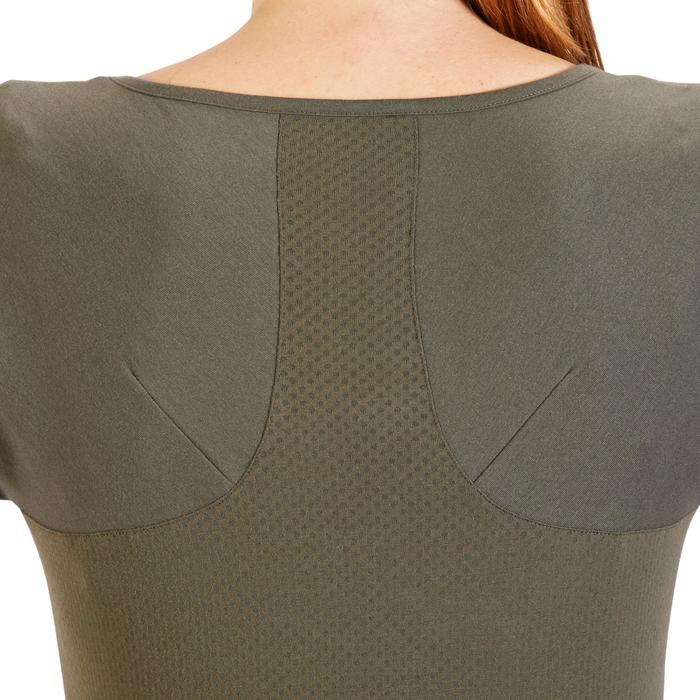 T-Shirt 900 manches courtes Gym & Pilates femme - 1318296