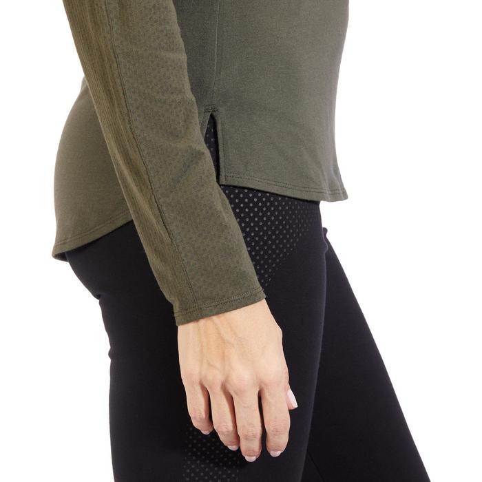 T-Shirt 900 manches longues Gym & Pilates Femme - 1318298