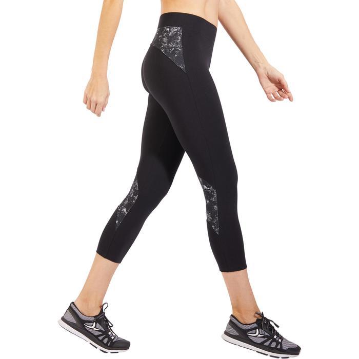 Legging 7/8 520 Gym & Pilates femme  noir - 1318325